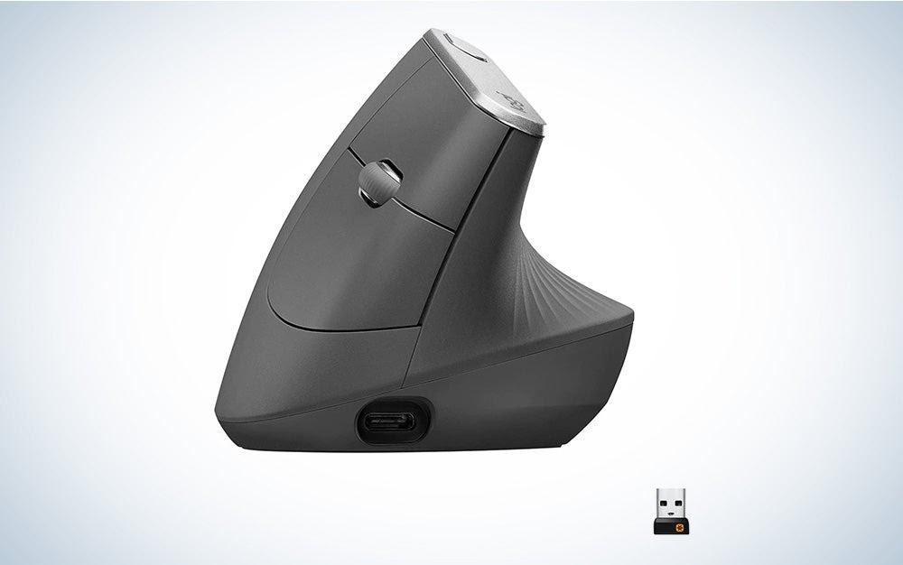 Bäst vertikal mus för artrit: Logitech MX Vertical Wireless Mouse